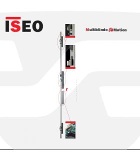 Cerradura alta seguridad motorizada  embutir 3P, Multiblindo eMotion, ISEO