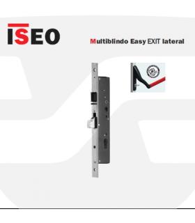 Cerradura alta seguridad antipánico automática de embutir, Multiblindo Easy Exit lateral, ISEO
