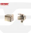 Cerraduras puertas metálicas basculantes K5 y K7 de Keymat