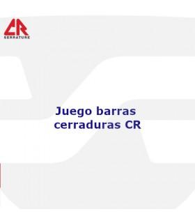 JUEGO BARRAS CERRADURAS ACORAZADAS , CR