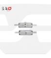 Cerradura persiana metálica  Serie 11AS,  SAG SEGURIDAD