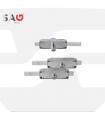 Cerradura persiana metálica  Serie 11ASNC,  SAG SEGURIDAD