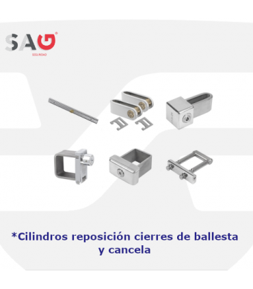 Cilindros sustitución de cierres de ballesta y cancela de Sag