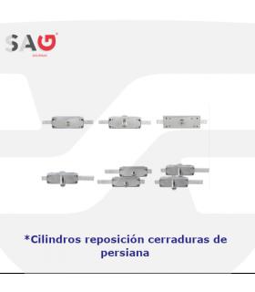 Cilindros sustitución cerraduras de persiana de Sag