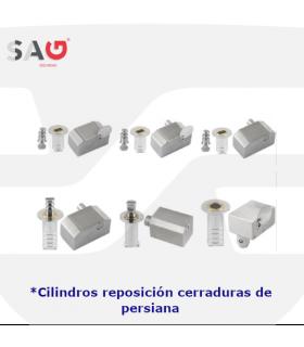 Cilindros sustitución cerraduras de puertas enrollables, basculantes y correderas de Sag