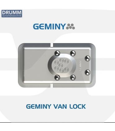 Candado alta seguridad para vehiculos  Geminy Van Lock de Drumm