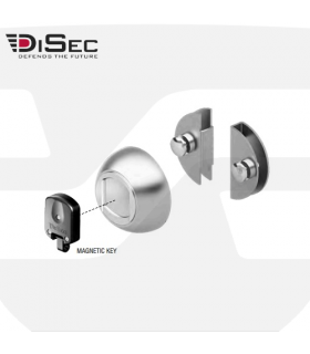 Protección magnética para puertas de cristal, GLM70  de Disec