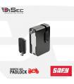 Bloqueo disco moto Alta Seguridad Magnético con alarma Safy, Disec