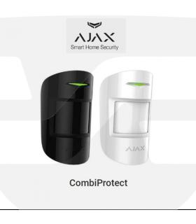 Detector PIR de movimiento y rotura de cristales COMBIPROTECT de Ajax