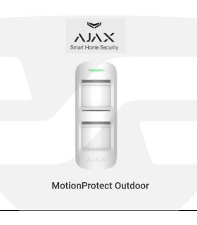 Detector PIR de movimiento exterior, OUTDOORPROTECT de Ajax