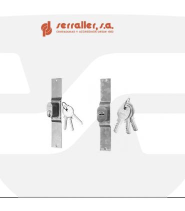 Cilindro reposición cerradura ballesta, SERRALLER