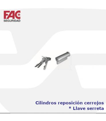 Cilindros reposición cerrojos llave serreta de FAC