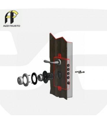 Escudo de alta seguridad F23Top. Azzi