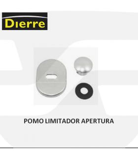 Pomo New Creta limitador de apertura de las puertas Dierre