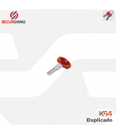 Llave copia o adicional de cilindro Evo K64 de Securemme