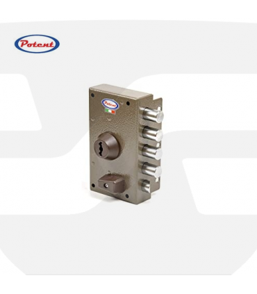 Cerradura Sobreponer Cilindro Pompa Serie 1700 de Potent