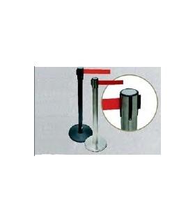 Poste delimitador con cinta extraíble de 2,20 metros, TT069, TopTop
