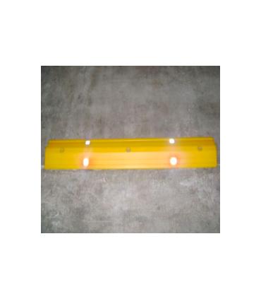 Reductor de velocidad separador de carriles de 160x30mm en PVC,TT030 Toc-Toc