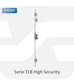 Cerradura embutir alta seguridad Serie TLB High Security, TESA