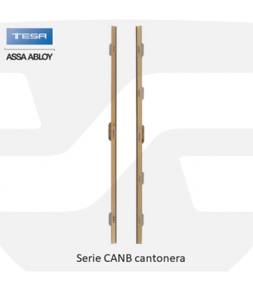 Cerradura embutir alta seguridad Serie CANB Cantonera, TESA