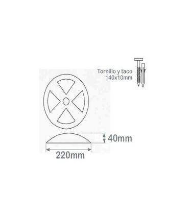 Reductor separador delimitador lenticular EU-01103, TT140 Toc-Toc
