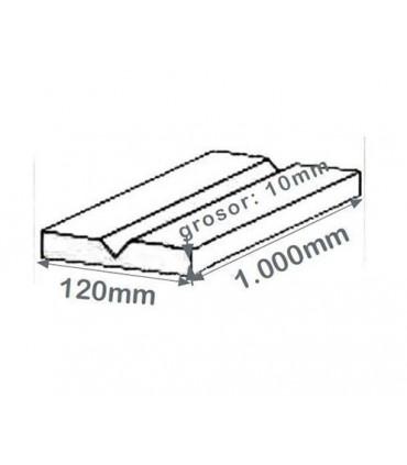 Esquinera de protección infantil canteada con perfil PVC de 1.000x120x10, TT104