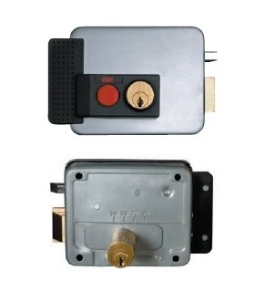 Cerradura sobreponer electrica samsung fac seguridad - Precio cerradura electrica ...