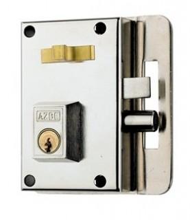 Cerradura de alta seguridad desobreponer deun punto de cierre, Mod.10-C/10-0C, AZBE
