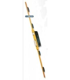 CERRADURA SEGURIDAD EMBUTIR MULTIPUNTO 5p. FRENTE 25 mm, LINCE