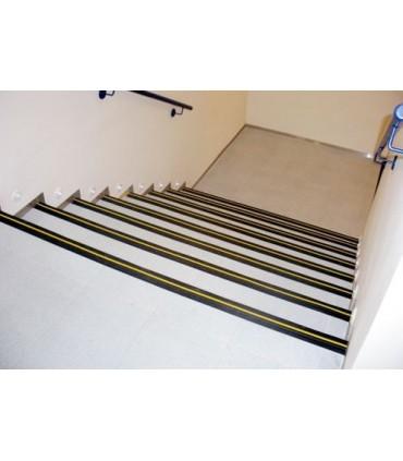 Protector de escaleras antideslizante de 65x40mm EPDM, TT028