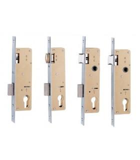 Cerradura embutir métalica Serie 741, Iseo