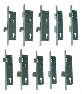 Cerradura embutir métalica Serie 7411, Iseo
