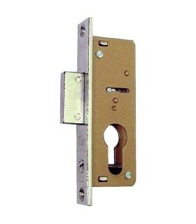 Cerradura embutir métalica 745203F, Iseo