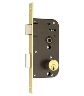 Cerradura embutir monopunto 45E, AZBE