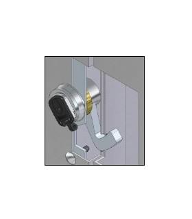 Cerradura bloqueo magnética puertas basculantes, MG700 Disec