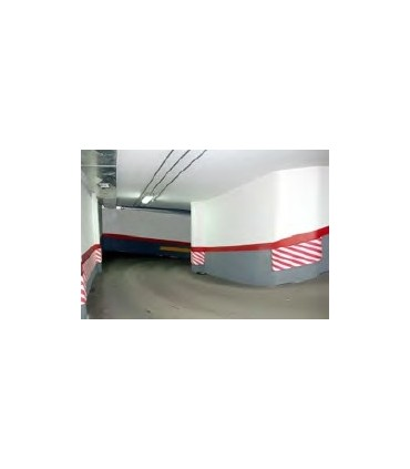 Protector de columnas en bobina diagonal de 750x25mm  serie TT,