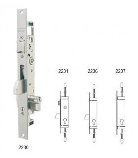 Cerradura embutir metalica multipunto Serie 2230, Tesa