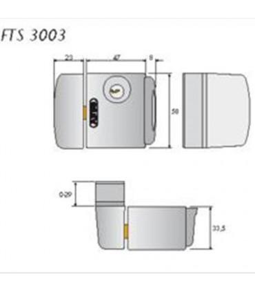 Cerrojo de seguridad exterior FST 3003, ABUS