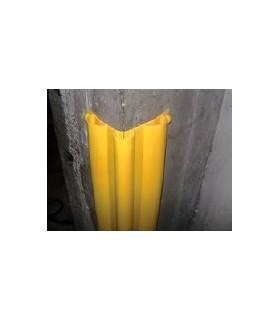 Protector esquinera columna de 140x140 triple hueco, de 1.000mm en PVC, TT026, toptop