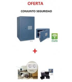 Caja fuerta sobreponer Zafiro con sistem ISAFE + caja camuflaje, BTV