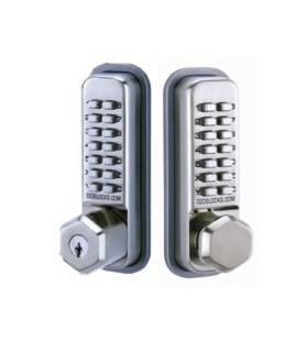 Cerradura mecánica para puertas interiores y exteriores. CL200, CodeLocks