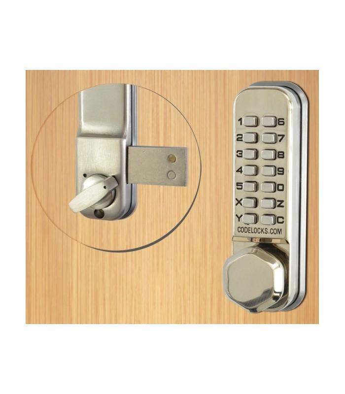 Cerradura mec nica para puertas interiores y exteriores for Cerraduras para exterior