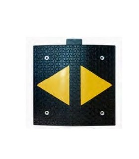 Reductor de velocidad 600x500x30,reflectante triangulo, TopTop