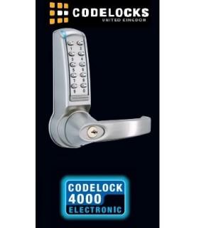 Cerradura electrónica con teclado para exteriores o interiores. CL4000, CodeLocks