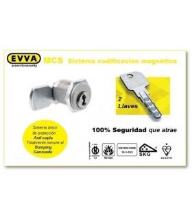 Cerradura buzón lengueta Alta Seguridad MCS, EVVA