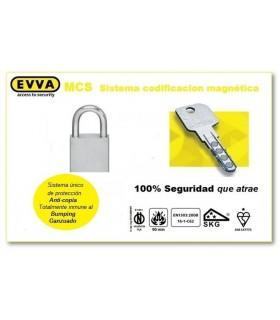 Candado Alta Seguridad HPM, EVVA MCS