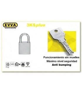 Candado Alta Seguridad HPM, EVVA 3KSPLUS