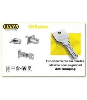 Cerraduras para muebles Alta Seguridad 3KSplus, EVVA