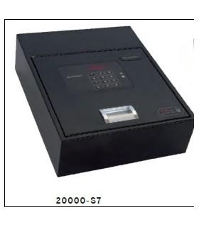 Caja fuerte de facil ocultacion BASA, para zocalos de armario, ARREGUI