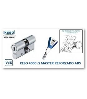 CILINDRO ALTA SEGURIDAD 4000Ω Master Reforzado ABS, KESO